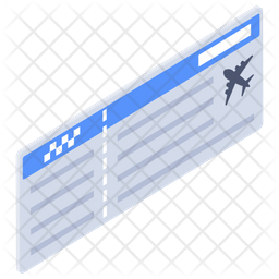 Airplane Tickets Icon