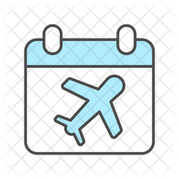 Airport Date Icon