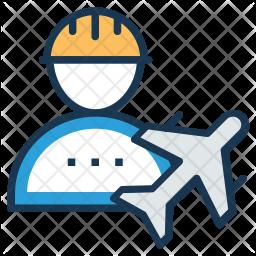 Airport Engineering Icon
