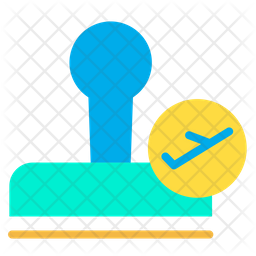 Airport Stamp Icon