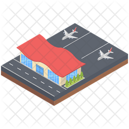 Airport View Icon