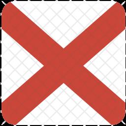 Alabama Flag Icon