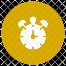Alarm Glyph Icon