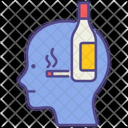 Alcoholism Icon