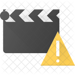 Alert in Clapper Flat Icon