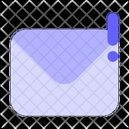 Alert-mail Icon