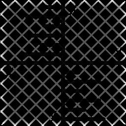 Algebra Graph Icon