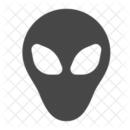 Alien Icon Of Glyph Style Available In Svg Png Eps Ai Icon Fonts