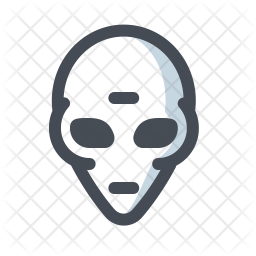 Alien Icon Of Colored Outline Style Available In Svg Png Eps Ai Icon Fonts