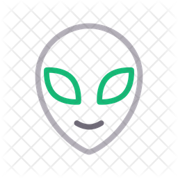 Alien Icon Of Line Style Available In Svg Png Eps Ai Icon Fonts