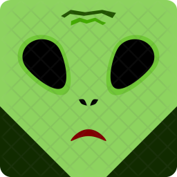 Alien, Halloween, Spooky, Seasonal Icon