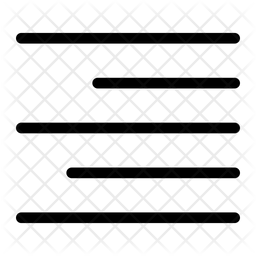 Align Right Icon