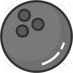 Alley Ball Colored Outline Icon