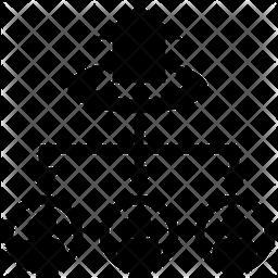 Allocation Glyph Icon