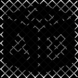 Alphabet Block Glyph Icon