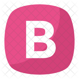Alphabet Letter B Icon
