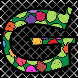Alphabet Letter G Icon