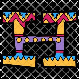 Alphabet Letter H Icon