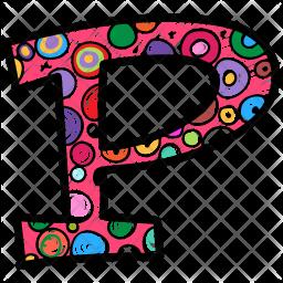 Alphabet Letter P Icon