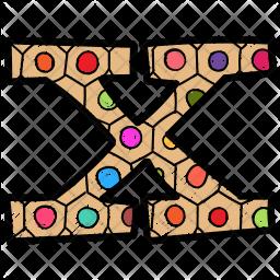 Alphabet Letter X Icon