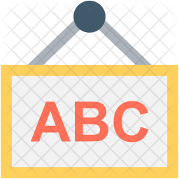 Alphabets Chart Icon