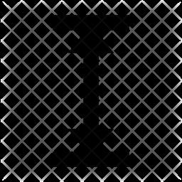 Altitude Glyph Icon