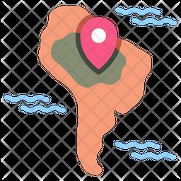 Amazon Map Icon