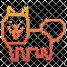 American Eskimo Dog Icon