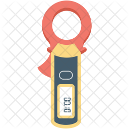 Ammeter Flat Icon
