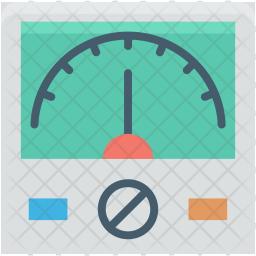 Ampere Flat Icon