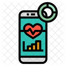 Analysis Application Colored Outline Icon