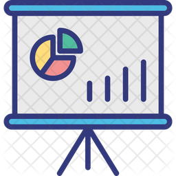 Analytical chart Icon