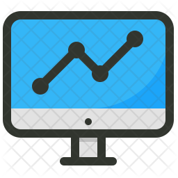 Analytics Colored Outline Icon