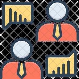 Analytics Discussion Icon