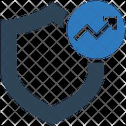 Analytics Protection Flat Icon