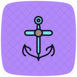 Anchor, Text, Shape, Interface Icon