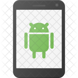 Android Smartphone Flat Icon