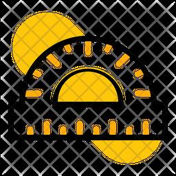 Angle Protractor Icon