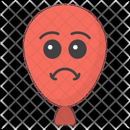 Angry Balloon Emoji Emoji Icon
