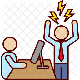 Angry boss Icon