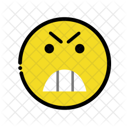 Angry emoji Emoji Icon