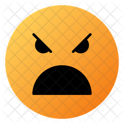 Angry Face With Open Mouth Emoji Icon Of Colored Outline Style Available In Svg Png Eps Ai Icon Fonts