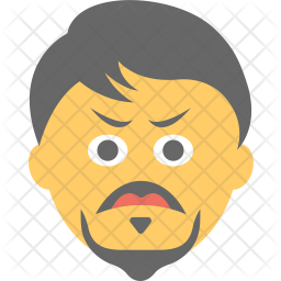 Angry Man Icon