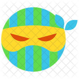 Angry Ninja Emoji Icon