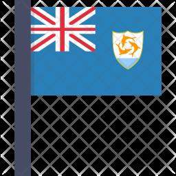 Anguilla Flag Icon