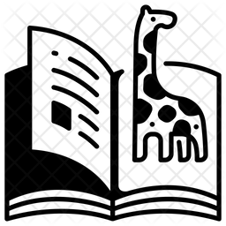 Animal Book Glyph Icon