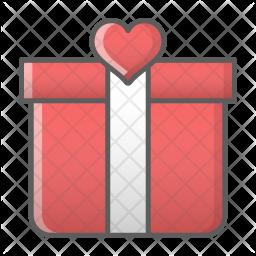 Anniversary gift Icon