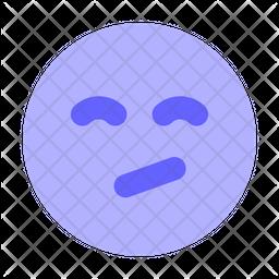 Annoyed-face Emoji Icon