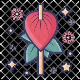 Anthurium Flower Icon
