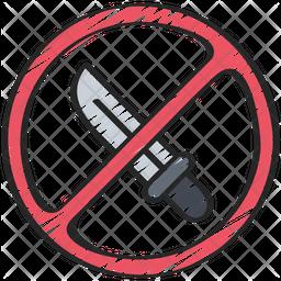 Anti knife crime Icon